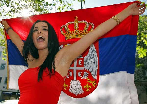 chicas serbia