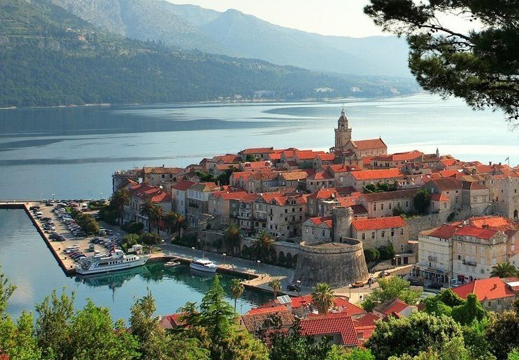 korcula town croacia