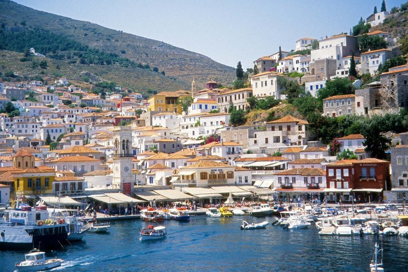 isla egina grecia