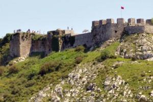 castillo de Rozafa en shkodra