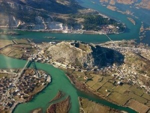 Castillo de Rozafa en Albania